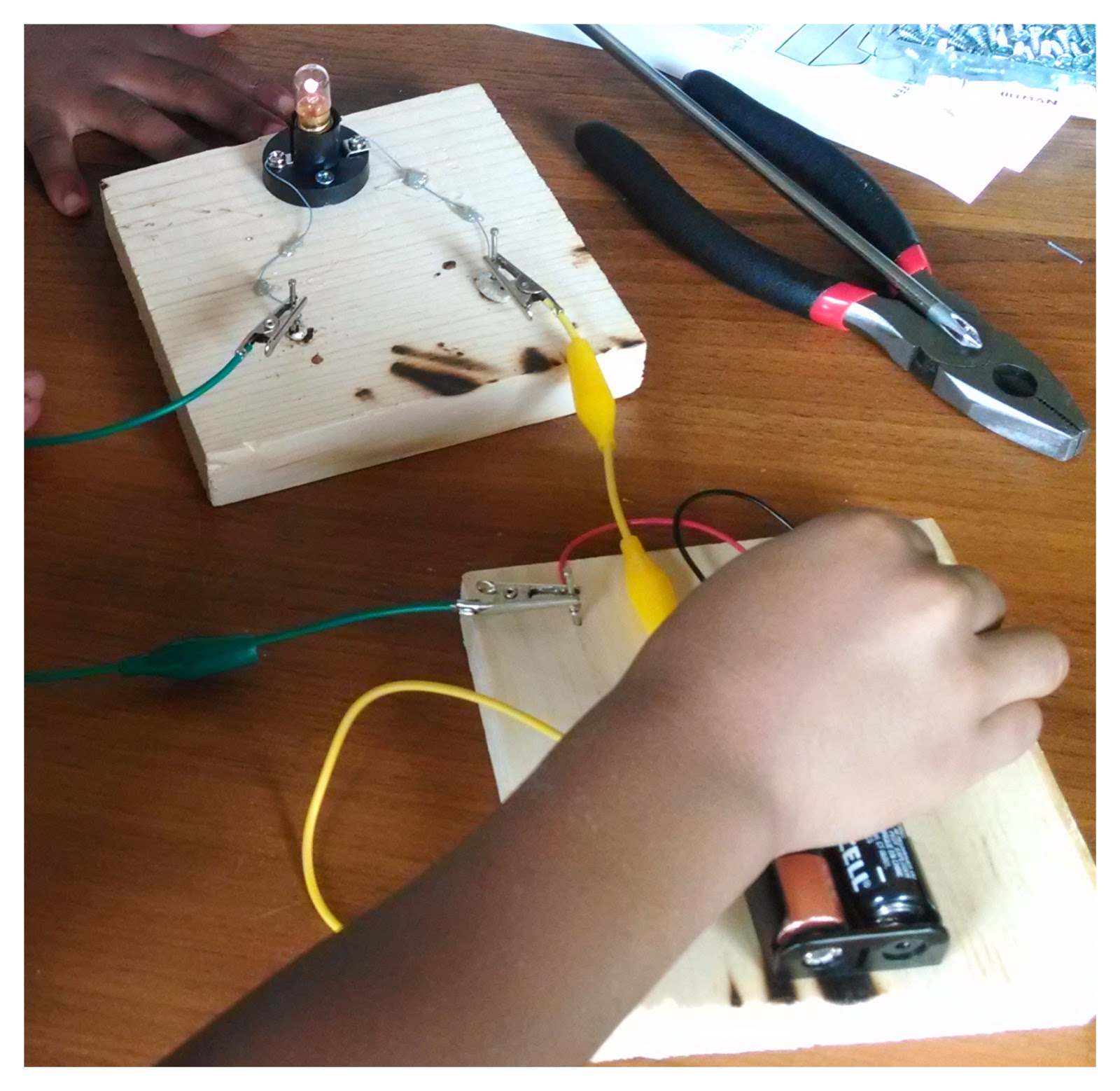 Stem And Flower Family Life For Growing Minds Making Circuit Boards How To Make A Simple Board This Week We Tinkered Around With Circuits Check Out Our Homemade