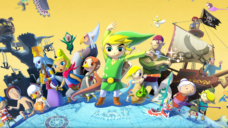 Nintendo Selects Legend Zelda Wind Waker