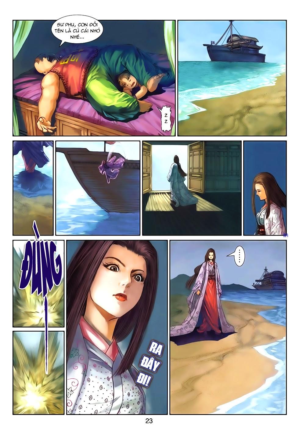 Thần Binh Tiền Truyện 4 - Huyền Thiên Tà Đế chap 9 - Trang 23