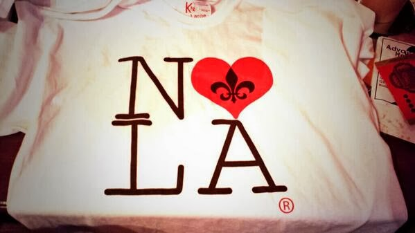 Click To Order Your I Love NOLA Shirt Now!