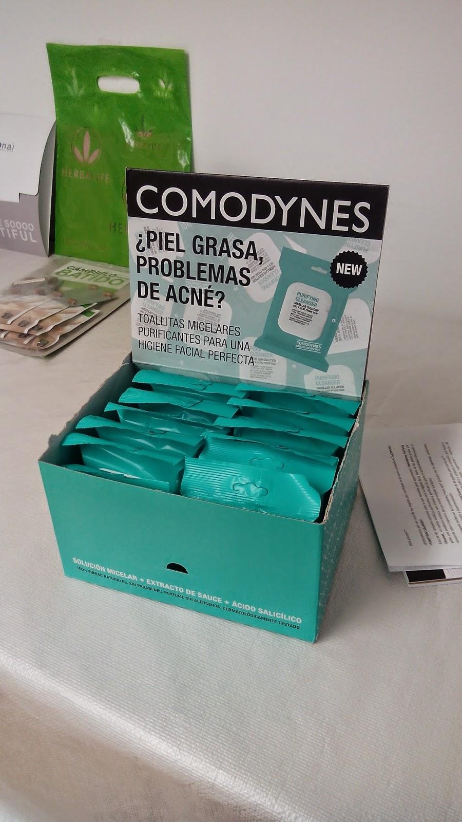 marketing participativo nuevas toallitas micelares de comodynes evento blogger