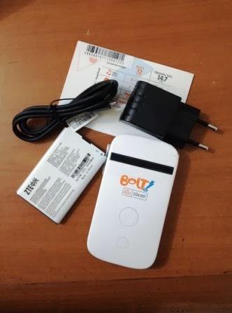 Daftar Harga Modem dan Paket Bolt 4G LTE Terbaru