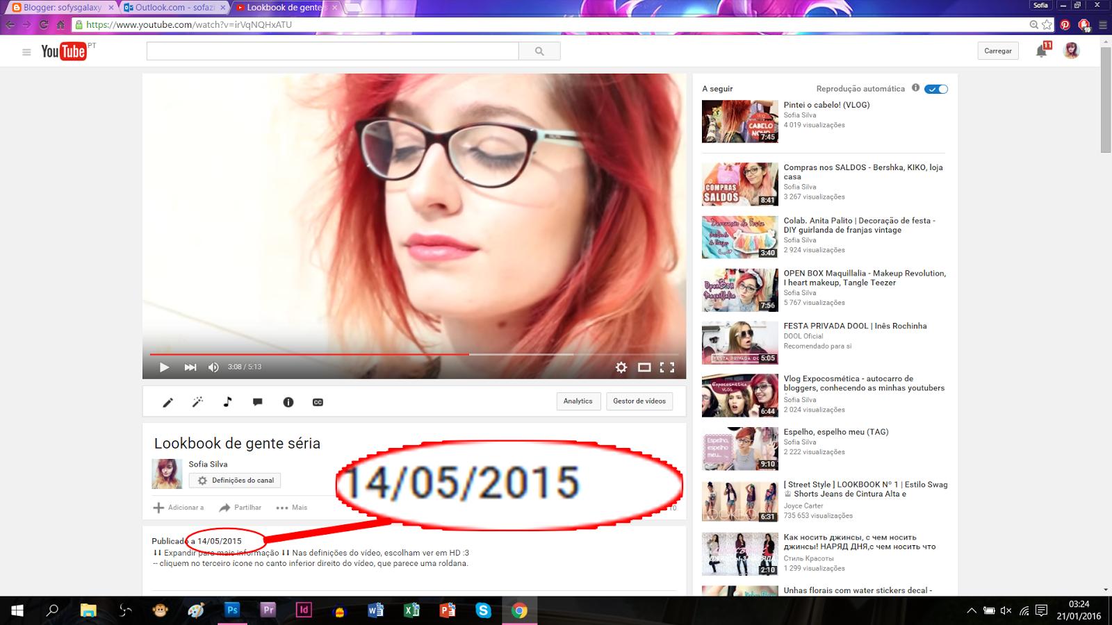 Last youtube video (date proof)