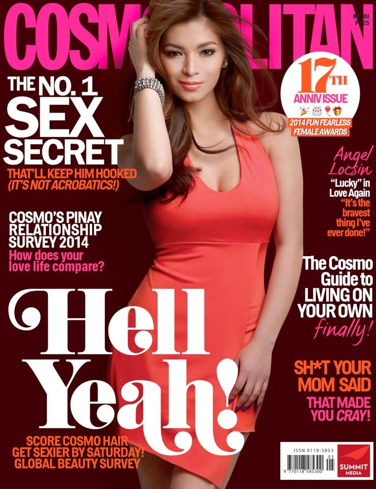 angel locsin cosmo ph may 2014