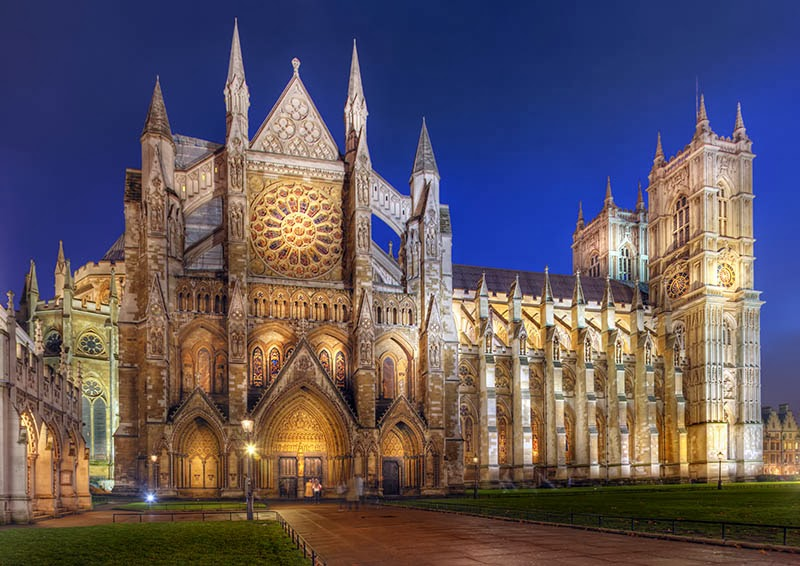 Westminster abbey night attraction