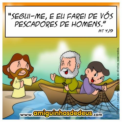 pescadores de homens desenho