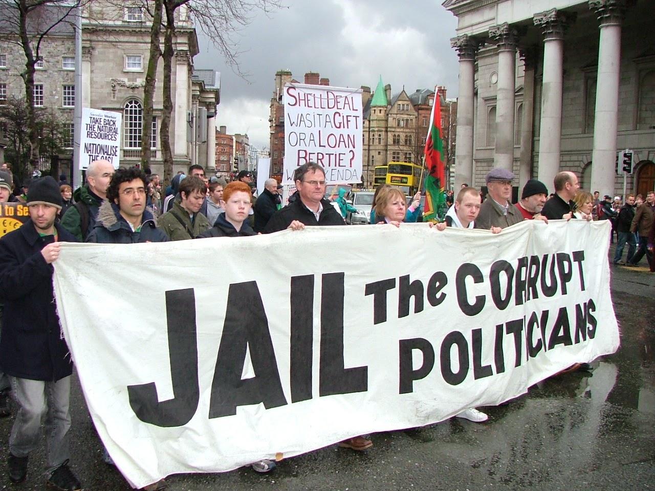 La închisoare cu politicienii corupți! sursa foto: http://drpinna.com/