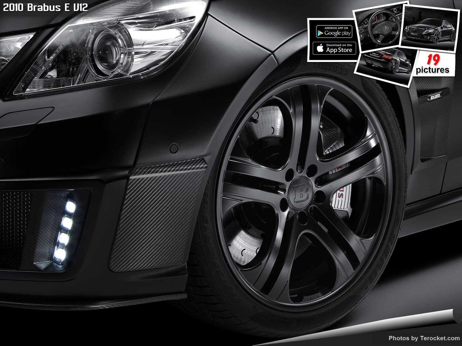 Hình ảnh xe ô tô Brabus E V12 2010 & nội ngoại thất