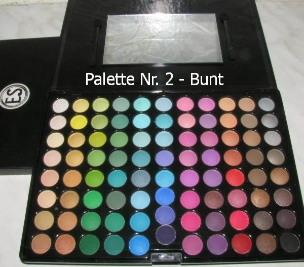 Gewinnspiel Palette Nr. 2 - BUNT: 88 Color Matte EyeShadow Professional Palette