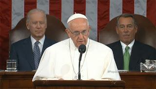 Discurso del papa Francisco ante el Congreso Estadounidense
