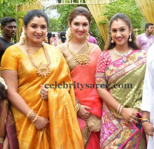 Vijay Kumar Daughters at Shantanu Wedding