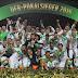 De virada, Wolfsburg bate o Dortmund e é campeão da Copa da Alemanha