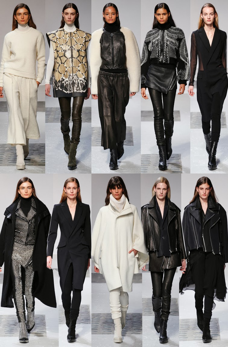 Barbara Bui fall winer 2014 runway collection, PFW, Paris fashion week, FW14, AW14