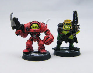 Reinforcements - Rogue Trader Ork General and Champion