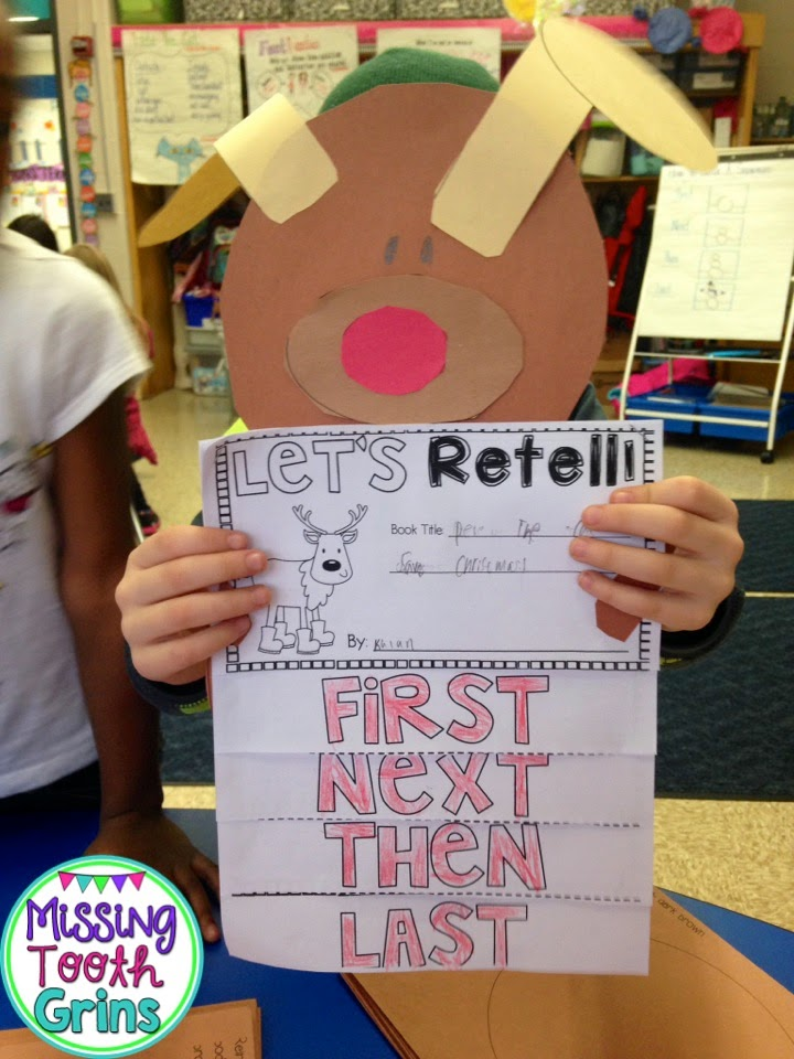 http://www.teacherspayteachers.com/Product/Retell-It-To-The-Reindeer-Craftivity-1580953