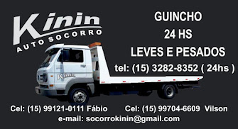 AUTO SOCORRO KININ Guincho 24 Horas Leves e Pesados