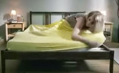 Girl With Bed