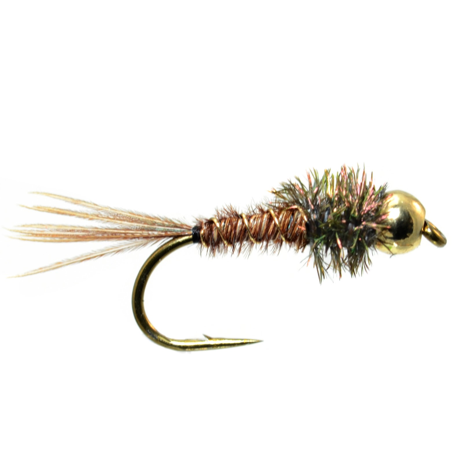Beginner fly tying easy pheasant tail fly fish food for Fly fishing tying