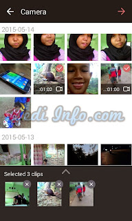 Menggabungkan Video di Android