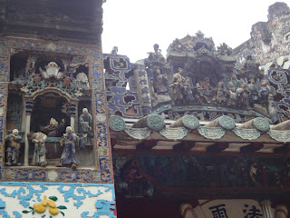Decoration in the Kun Iam temple