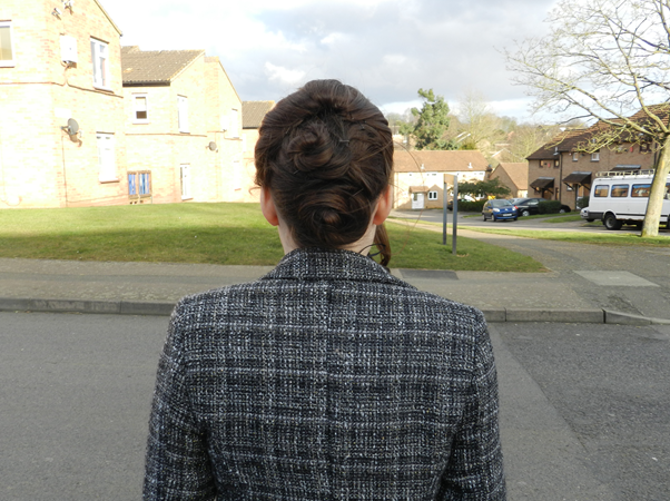 beehive up-do