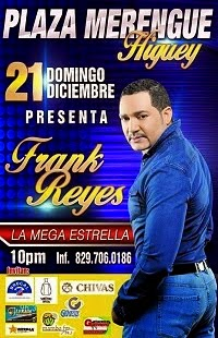Frank Reyes - Plaza Merengue - Higuey
