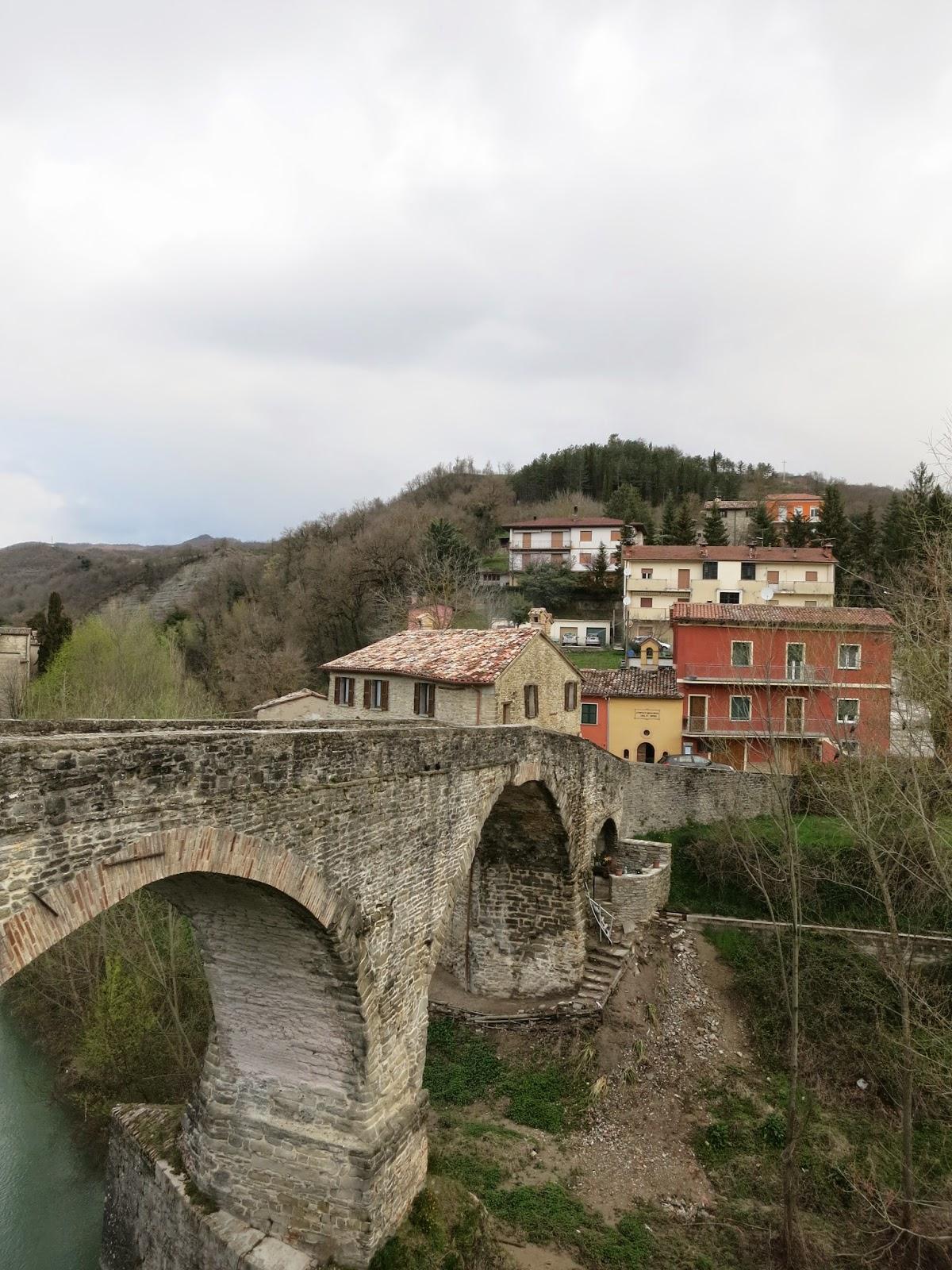 Itineris mei giro dell 39 alta val metauro i parte da for Ponte sul davanti della casa