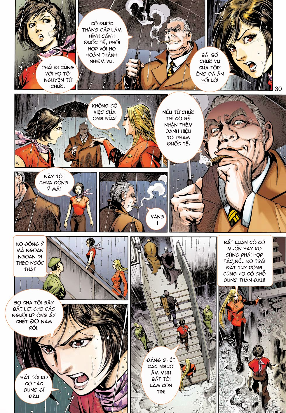 Thần Binh 4 chap 25 - Trang 32