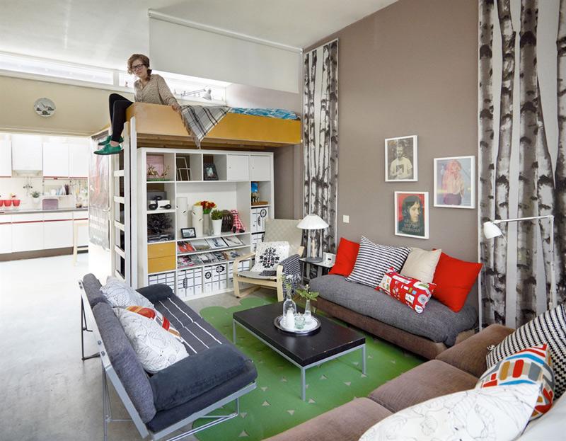 Como decorar um pequeno apartamento casas e novelas for Decorar mini apartamentos