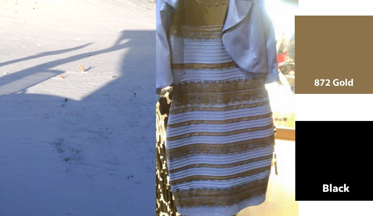 The dress explained - Explanation Of Blue Dress Controversy