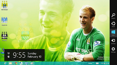 Manchester City Fc Theme For Windows 8