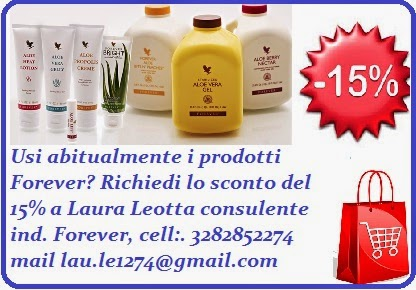 Richiedi lo sconto Forever living