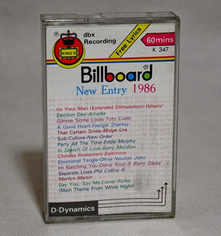 Billboard New Entry 1986