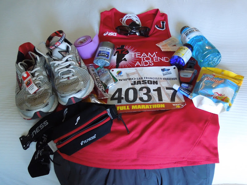 San Francisco Marathon race kit