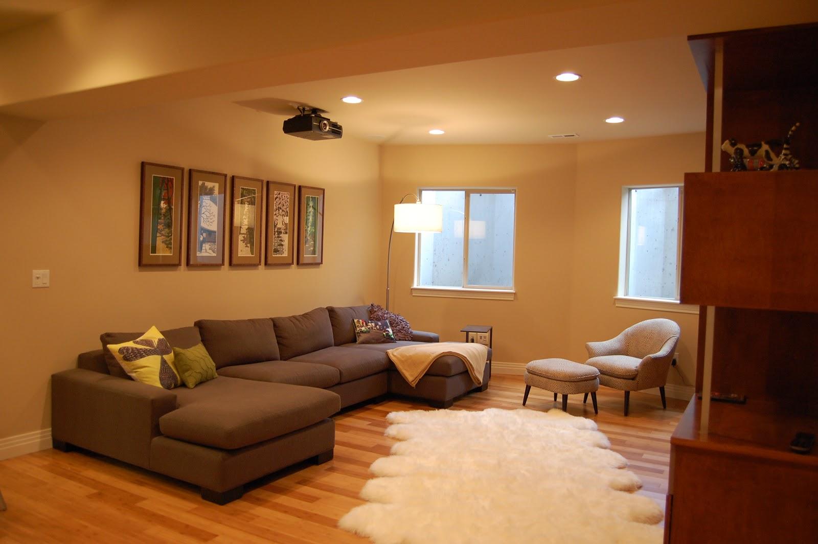 luxury basement furniture decoration ideas basement style interior