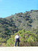 That's me on the hiking trail