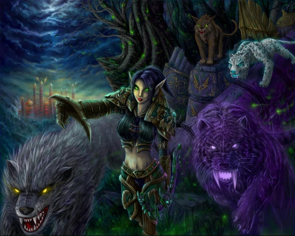 World of Warcraft HD & Widescreen Wallpaper 0.0789438269037803