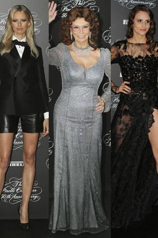 Amazing Pic: Karolina Kurkova, Sophia Loren & Tavares Fernanda
