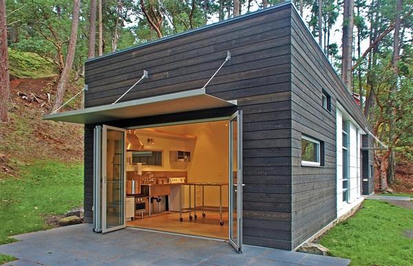 Casas minimalistas en el bosque minimalistas 2015 for Casa minimalista bosque