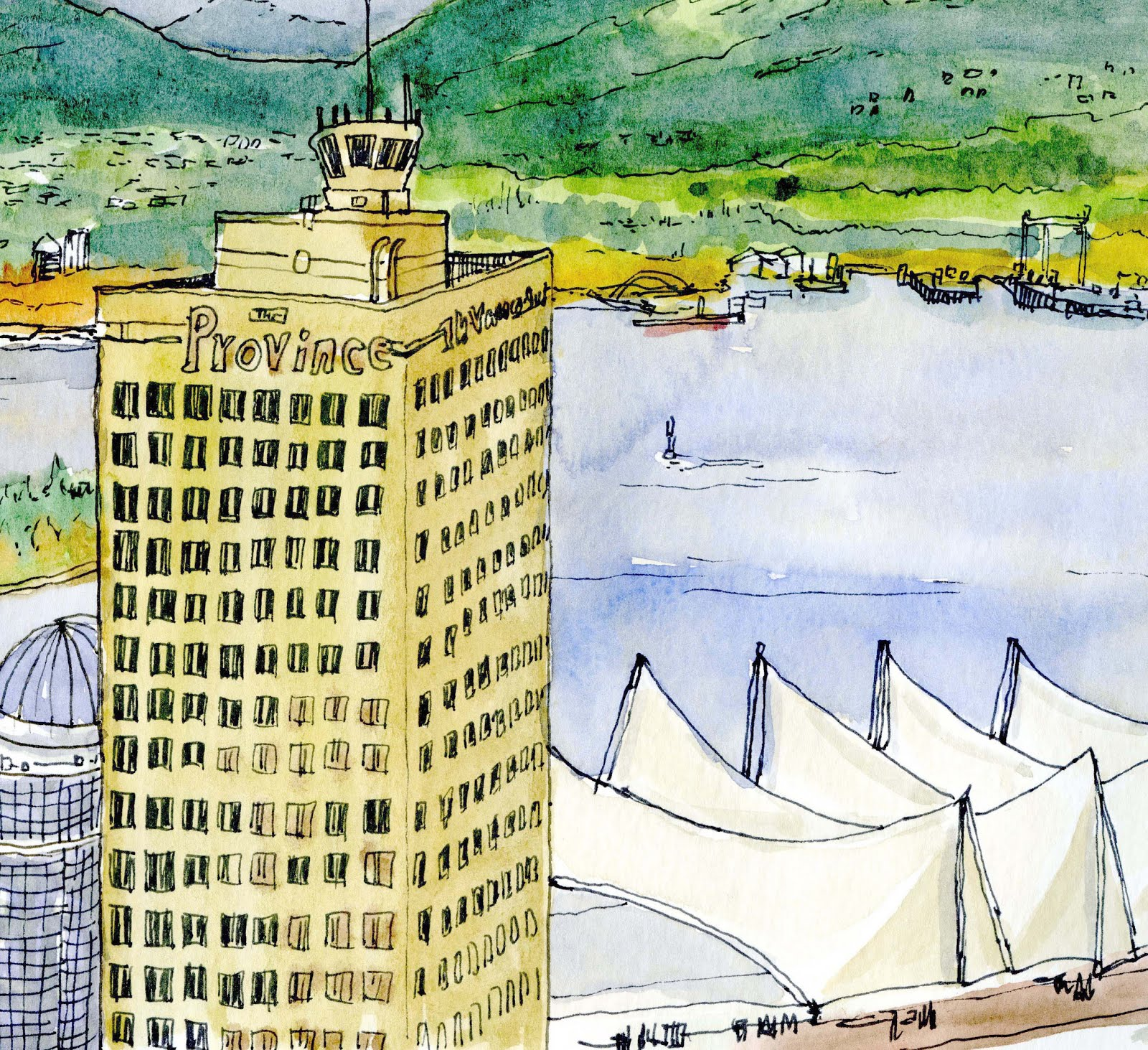 5th West Coast Sketchcrawl - Vancouver