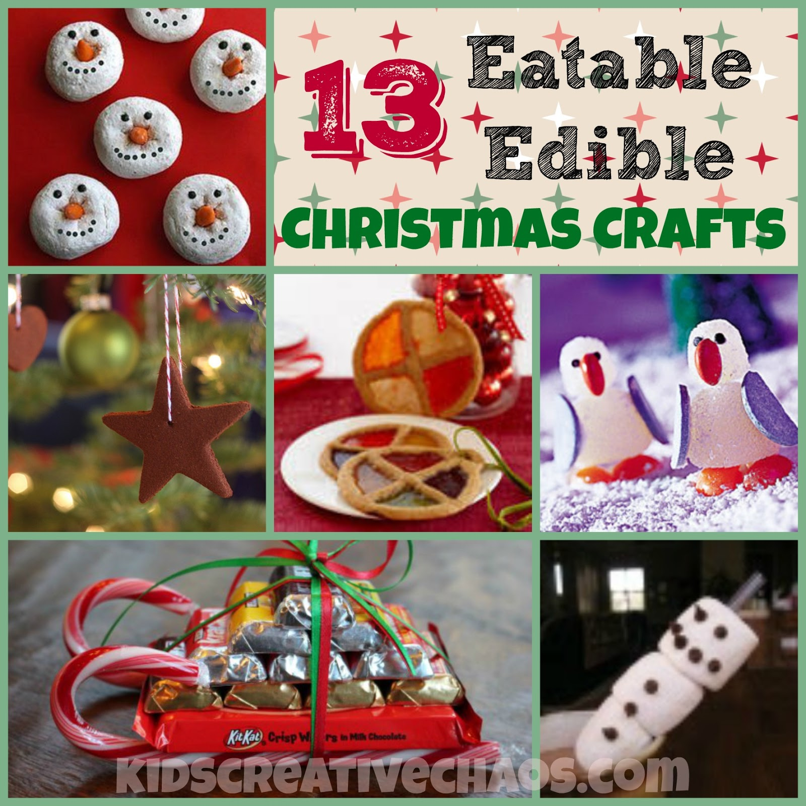 Fun Easy Eatable Edible Christmas Art And Craft Activities For Kids