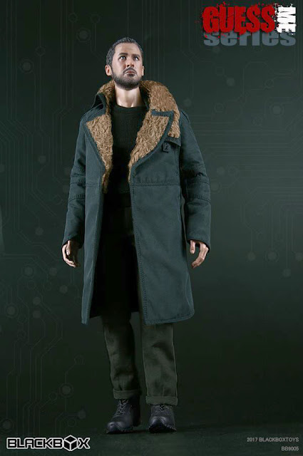 """Brothers Production 1//6 scale Blade Runner Long Sleeve Pattern Shirt for 12/"""" fig"""