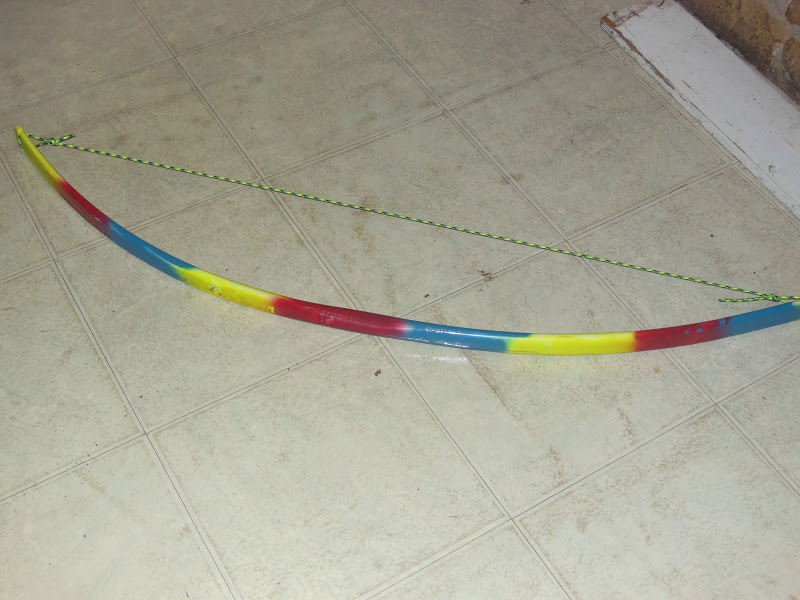 how to make pvc recurve bow