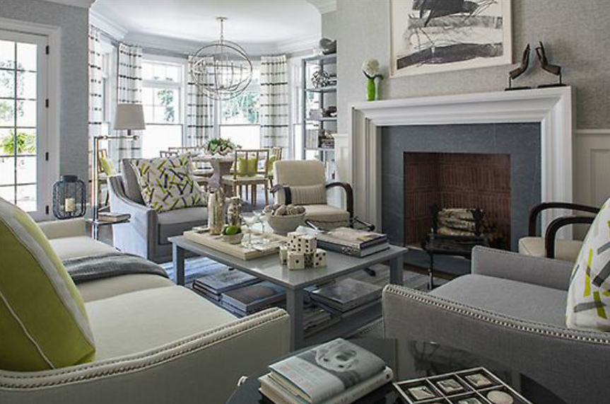 Traditional Home And Spotted The Work Of Interior Designer Patricia Fisher I Love Her Style Unique Mix Thought You Would Enjoy Seeing