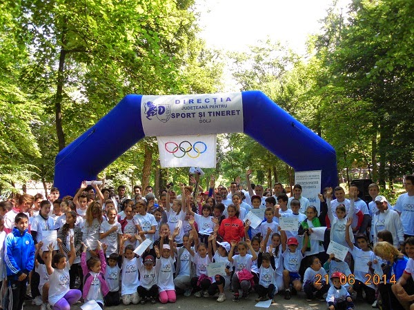 Olympic Day - Crosul Olimpic la Craiova