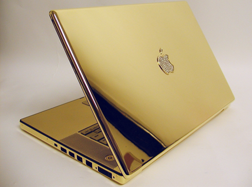 Fashion Design 24k Gold Plated Macbook Pro Is The