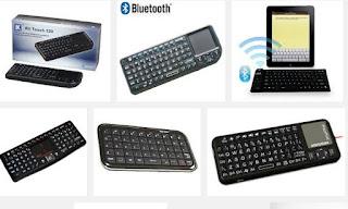Original loftk mini Wireless Bluetooth Qwerty Keyboard