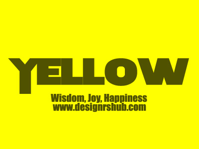 Yellow - Wisdom, Joy, Happiness