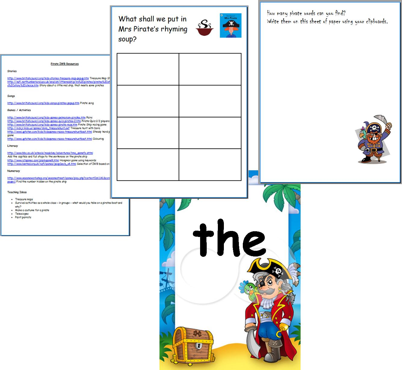 Infant teacher resources teaching resource pirates water boys ks1 early years infant topic iwb gumiabroncs Image collections
