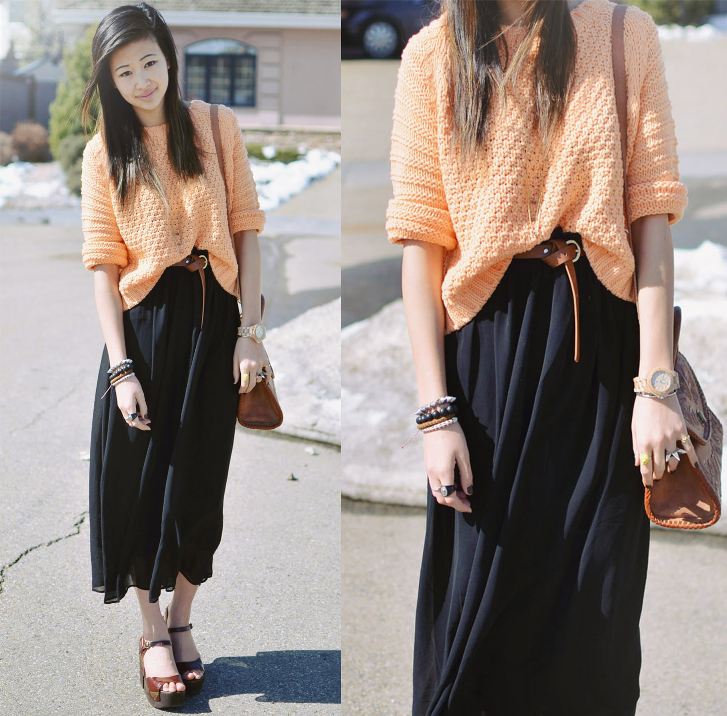 Cute Outfits With Long Skirts Tumblr | Www.pixshark.com - Images Galleries With A Bite!